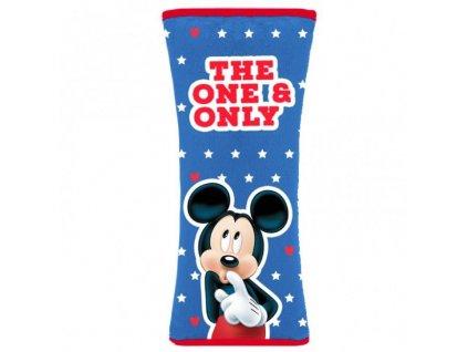 Potah na bezpečnostní pás Mickey - 19 x 8 cm