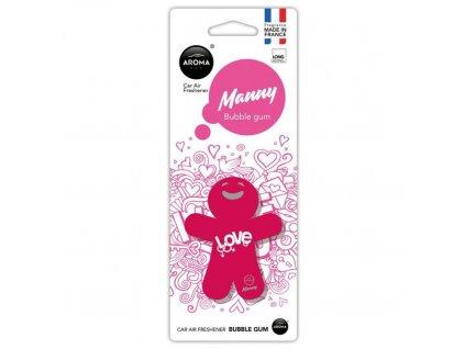 Osvěžovač MANNY - Bubble gum
