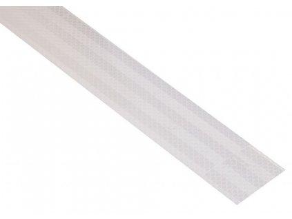 Samolepící páska reflexní - 1 m x 5 cm, bílá