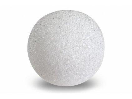 LED svítící koule, 8 cm - bílá