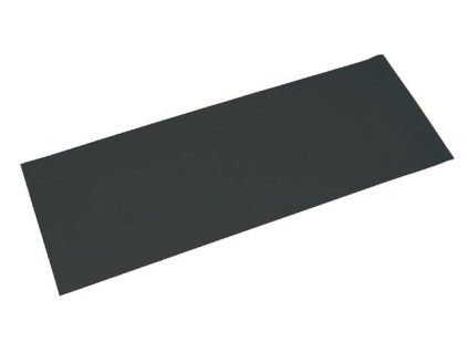 Gymnastická podložka 173x61x0,4 cm, ČERNÁ