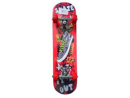 Skateboard dětský s Alu podvozkem