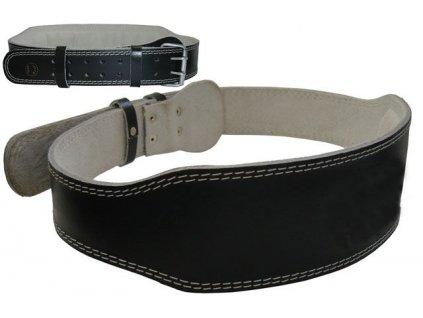 Vzpěračský pás kožený-L