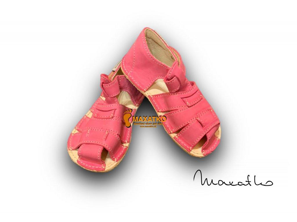 OrtoPlus/OkBarefoot - Palm - 201/G - Ružové - Sandálky