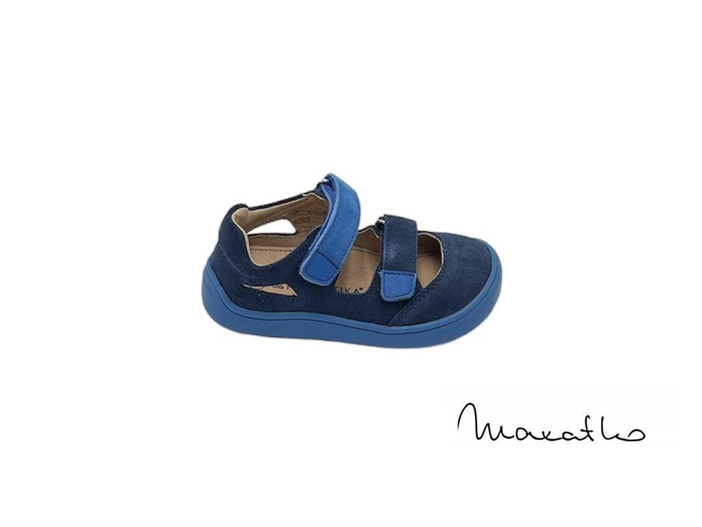 Protetika Barefoot Berg Navy - Sandálky