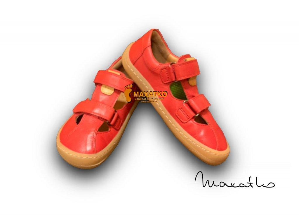 Froddo Barefoot Red - G3150166-4 - Sandálky