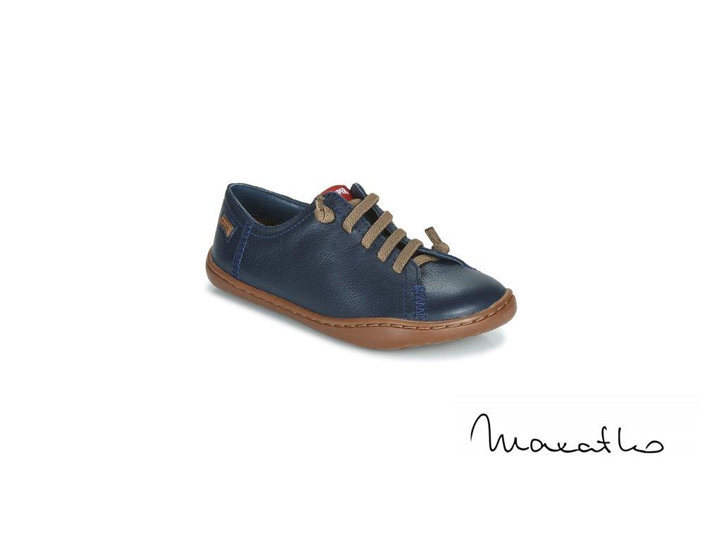 Camper Peu Cami Kids - Sella Hypnos/Path Miel Blue - Celoročné topánky