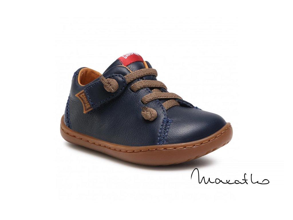 Camper Peu Cami - First Walker Sella Hypnos/Path Miel Blue - Celoročné topánky