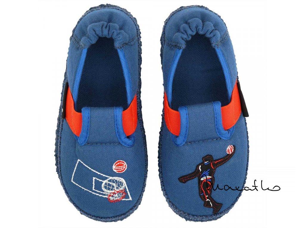 Nanga - Basketballer Blau - Papuče