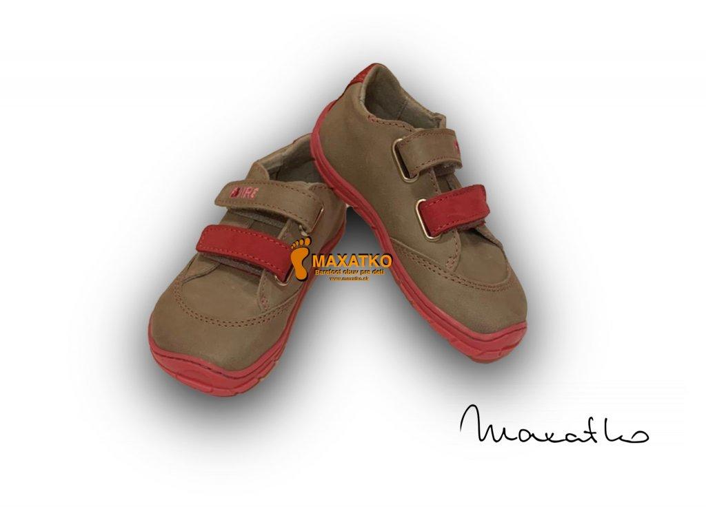 Fare Bare Sivo-ružové - Nízke - 5114251 - Celoročné topánky