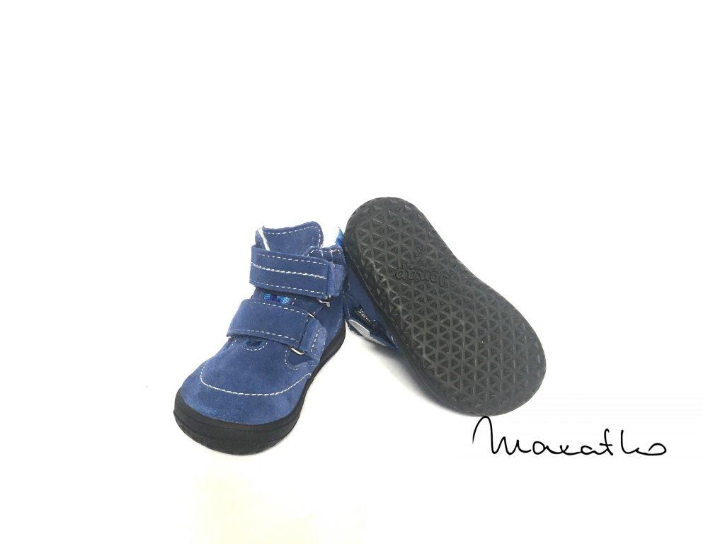 Jonap B5 - Modré - Zimné topánky