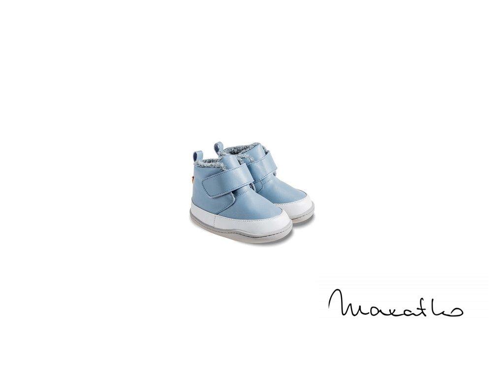 Little Blue Lamb Baby - Bony dark grey - Zimné topánky