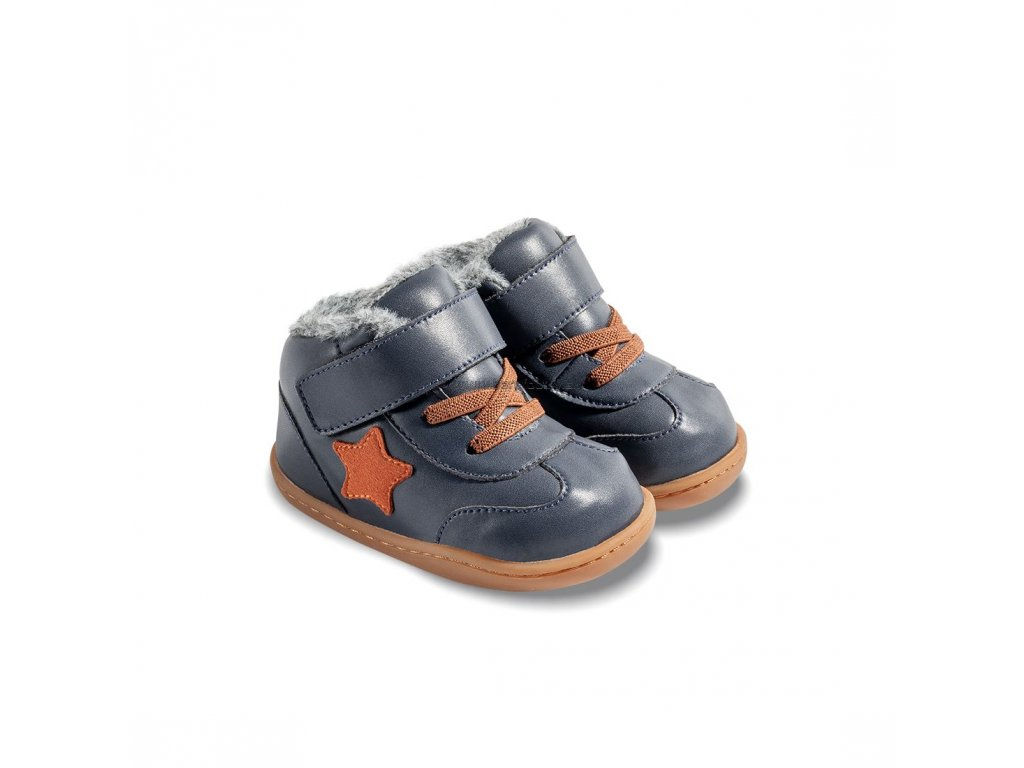 Little Blue Lamb Baby Beck Navy - Zimné topánky