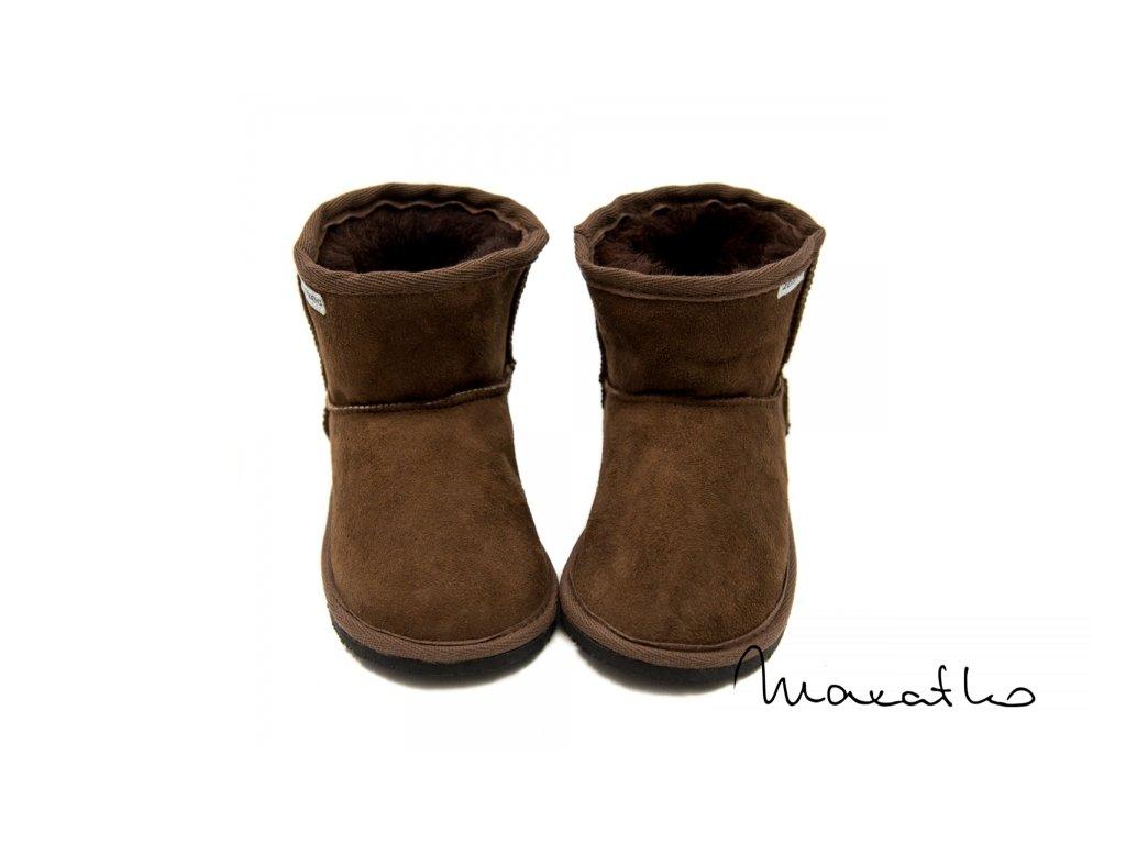 ZeaZoo  Dingo - Brown - Zimné čižmičky