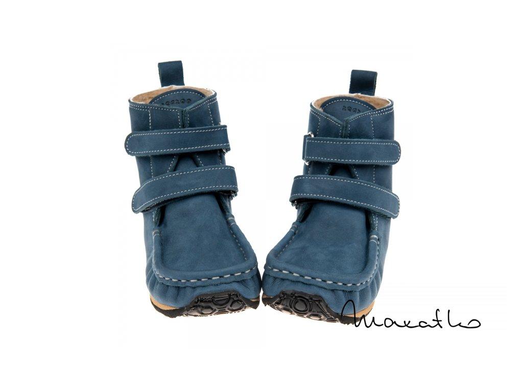 ZeaZoo Yeti Blue Sheepskin W - Zimné topánky