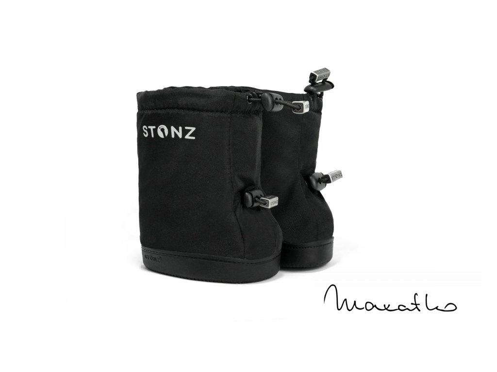 Stonz Booties Toddler - Robot Haze Blue