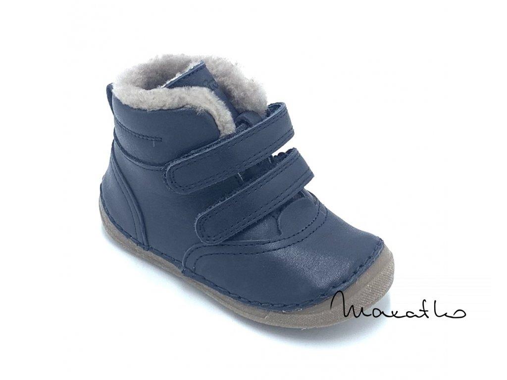 Froddo Flexible Winter Dark Blue - Zimné topánky