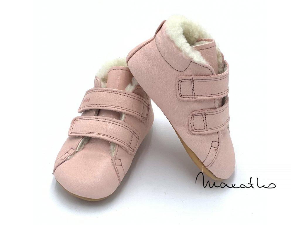 Froddo Prewalkers Winter Pink - Zimné topánky