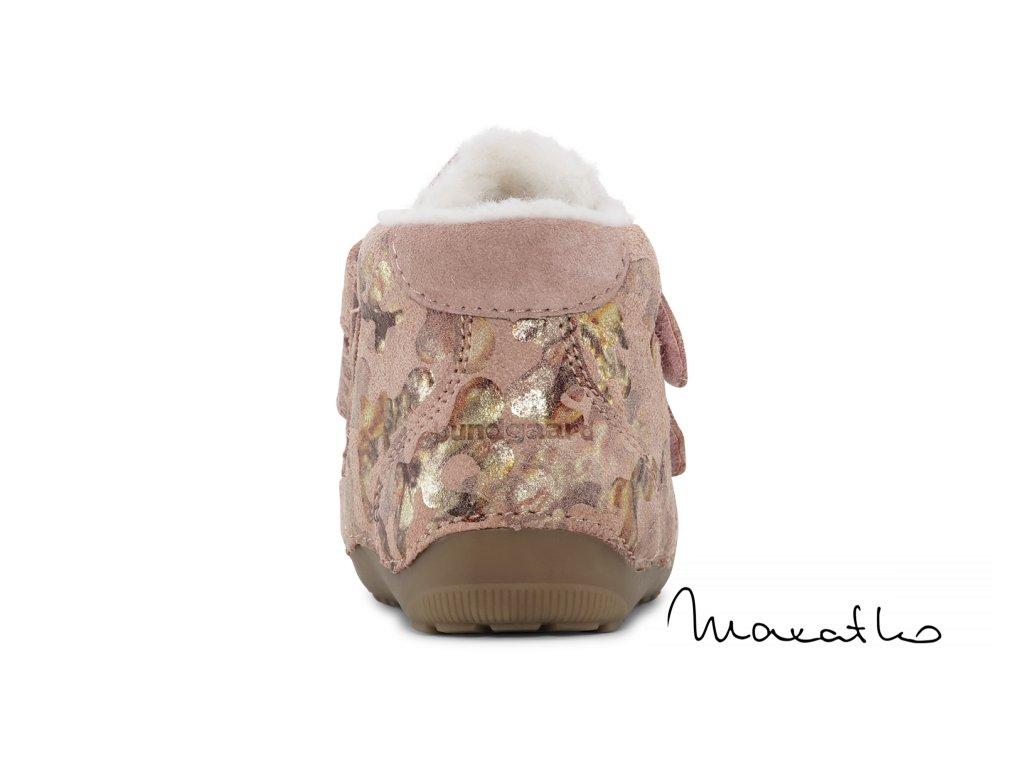 Bundgaard Petit Winter Mid Velcro - Navy - Zimné topánky
