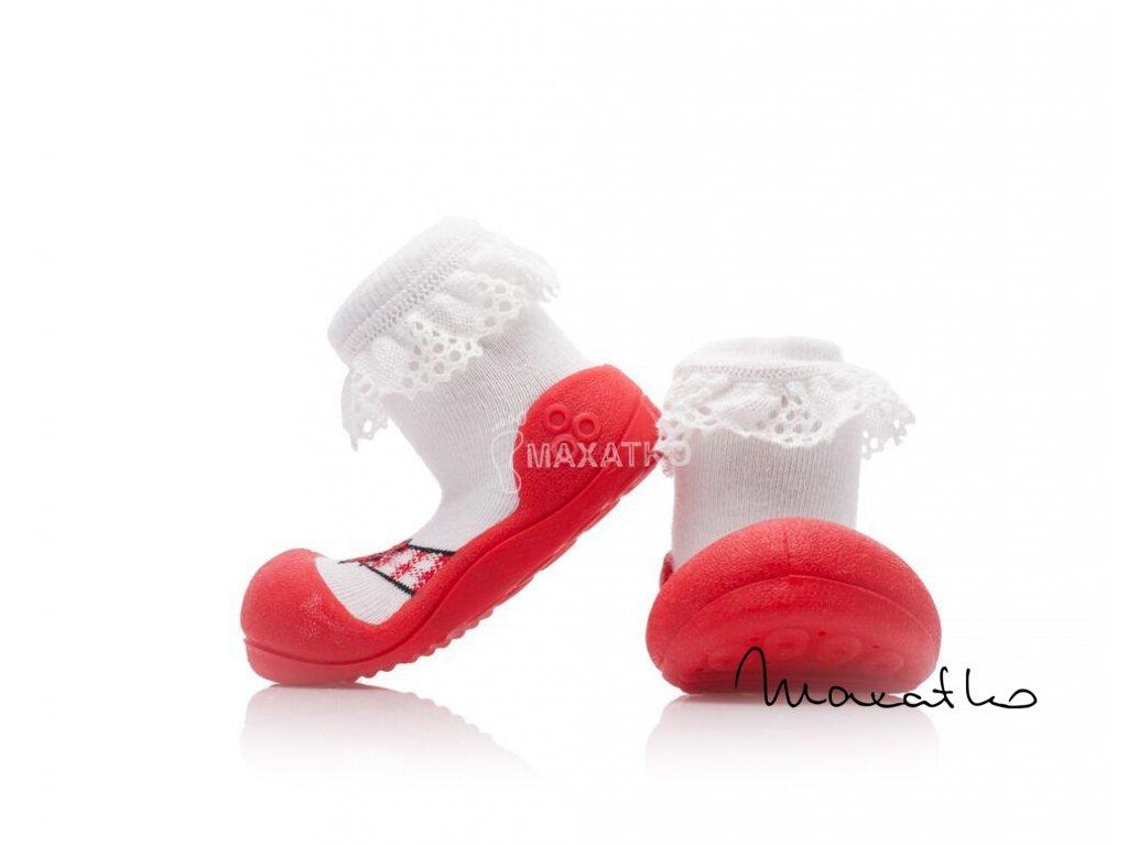 Attipas Ballet Red - Capačky