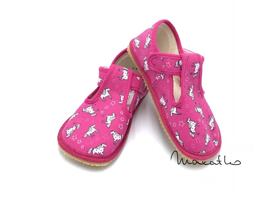 Boty Beda - Papuče W - Ružové - Koník