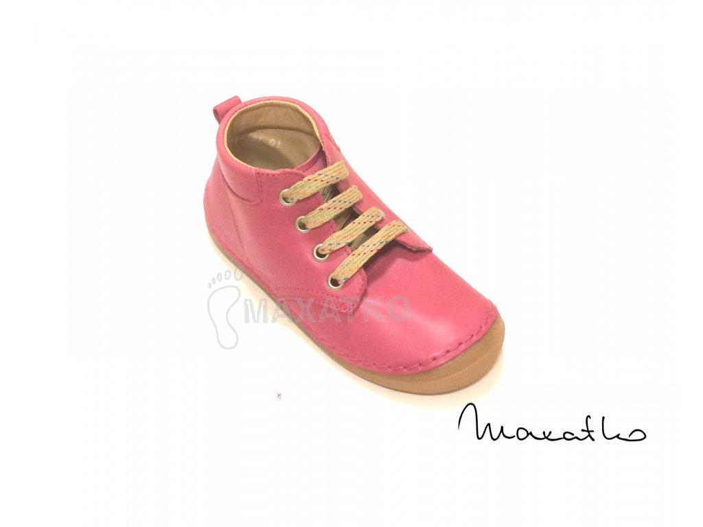 Froddo Flexible - Vysoké G2130157-3 - Fuchsia - Celoročné topánky - Šnurovacie
