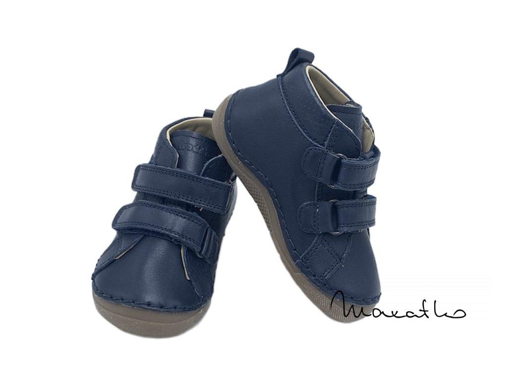 Froddo Flexible - Vysoké G2130158 - Dark Blue - Celoročné topánky