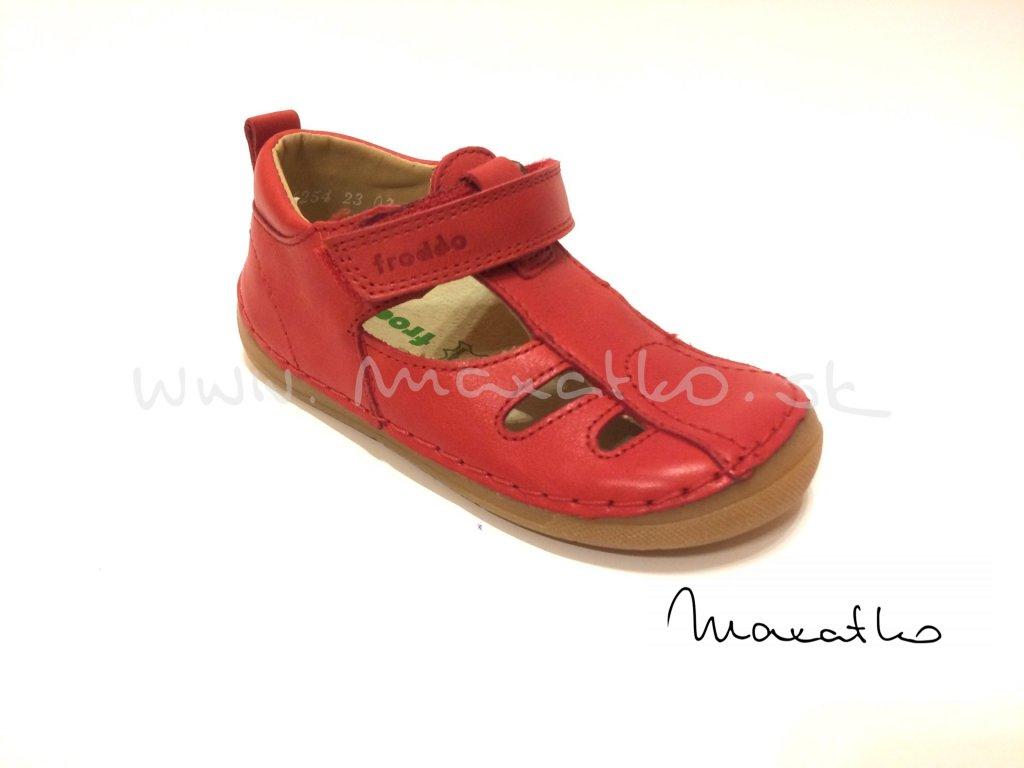 Froddo Flexible - Red G2150089-3 - Sandálky