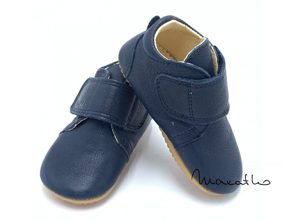 Froddo Prewalkers G1130005-2 Dark Blue - Celoročné topánky