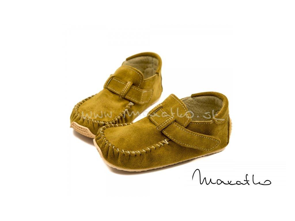 ZeaZoo Leo Camel - Celoročné topánky