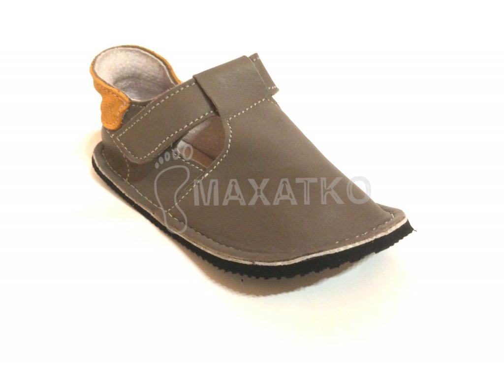 ZeaZoo Corela Gray - Celoročné topánky