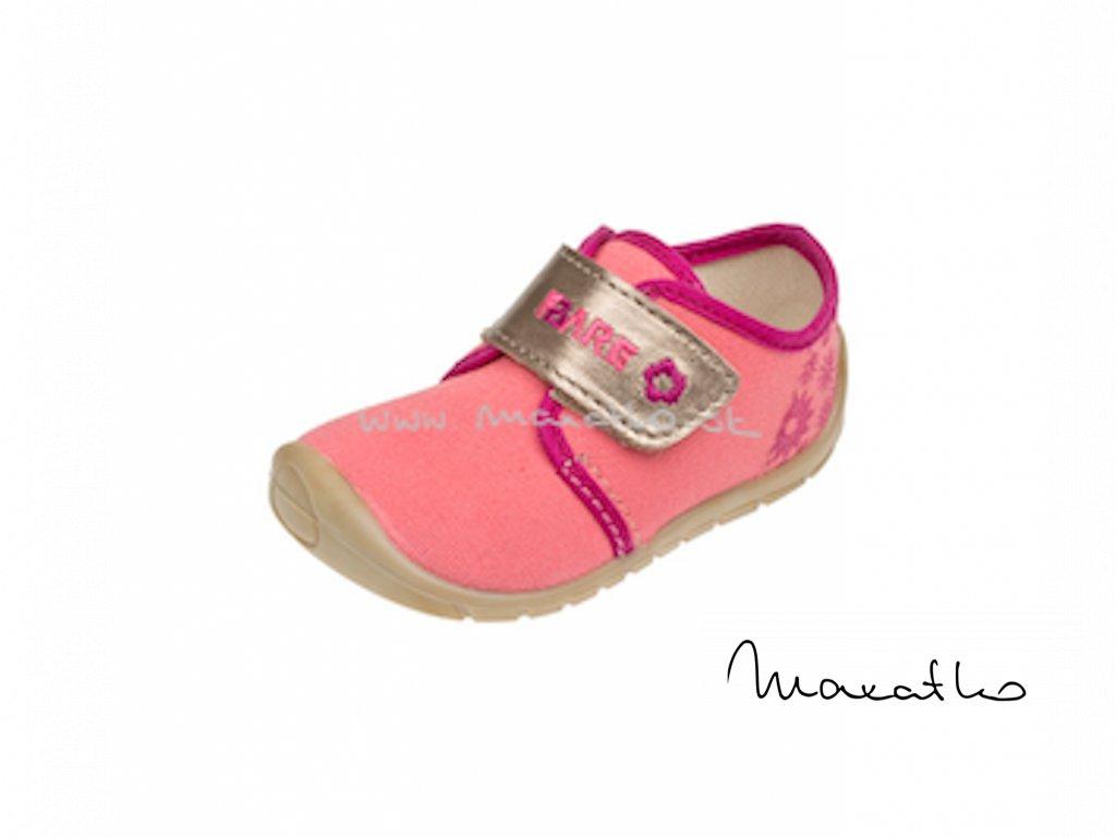 Fare Bare Prvé krôčky - Ružové - 5011491 - Plátenky