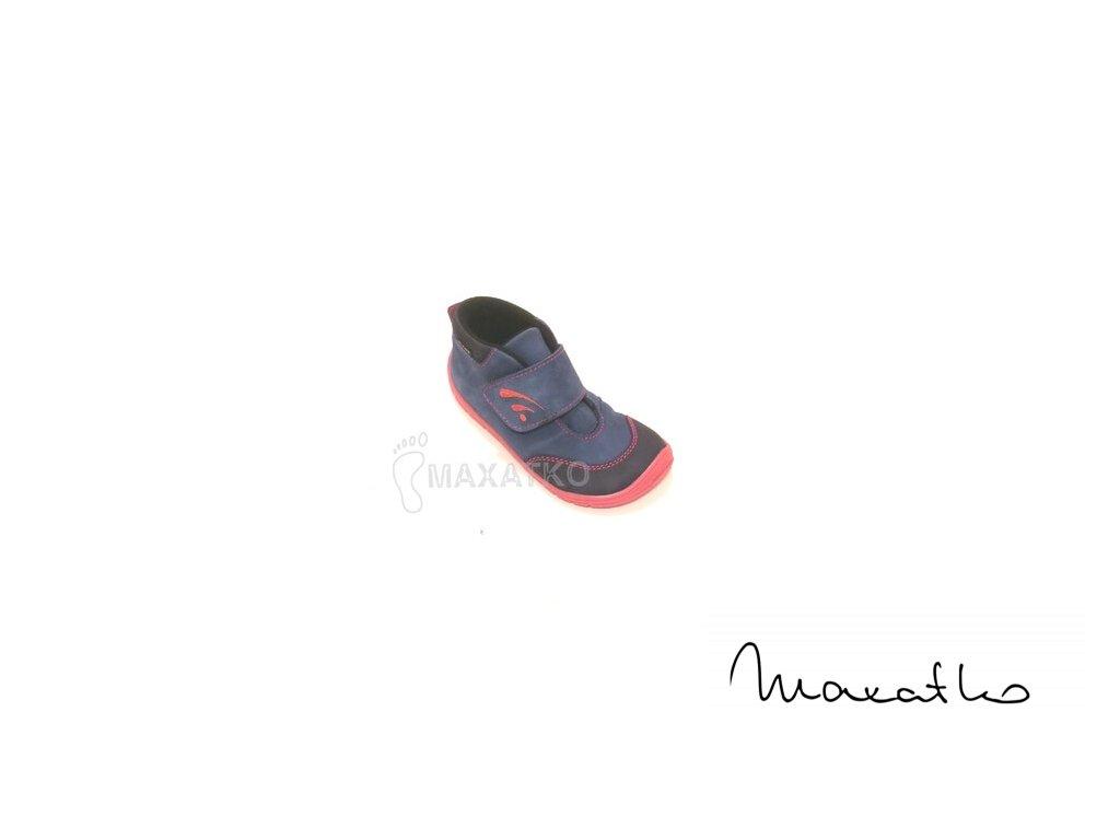Fare Bare Modro-ružové - Vysoké - 5121251 - Celoročné topánky - Zateplené (Veľkosť 27)