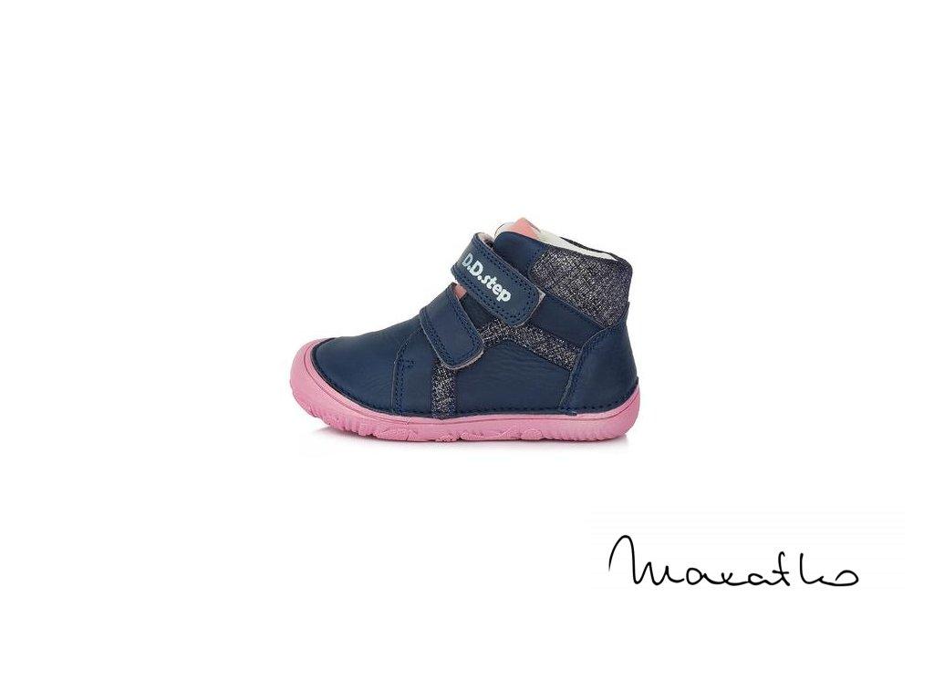 D.D.Step Bermuda blue - DBP019-015-177W - Celoročné topánky