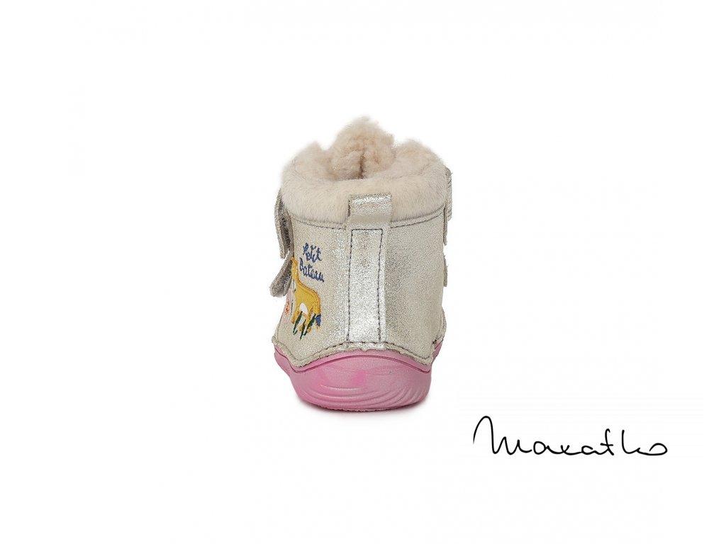 D.D.Step - Black DVB018-015-162A - Zimné topánky