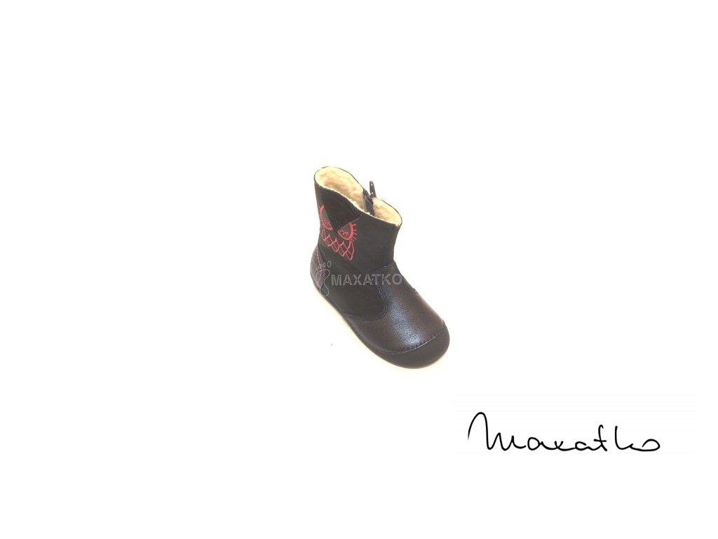 D.D.Step Royal Blue - DVG018-015-160 - Zimné čižmičky (Veľkosť 24)
