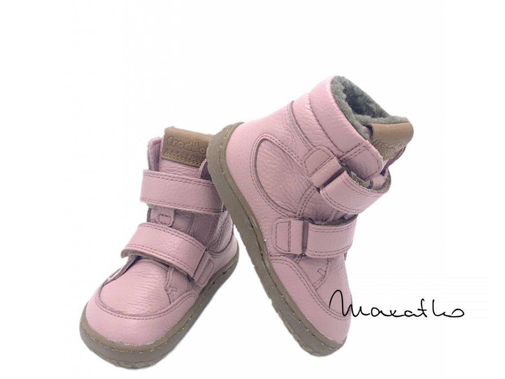 Froddo Barefoot Pink G3160164-5  - Zimné topánky