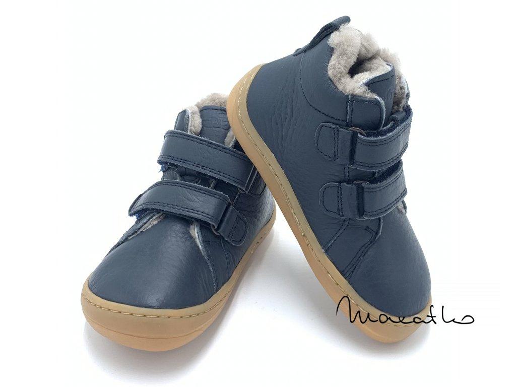 Froddo Barefoot Blue G3110195-K  - Zimné topánky