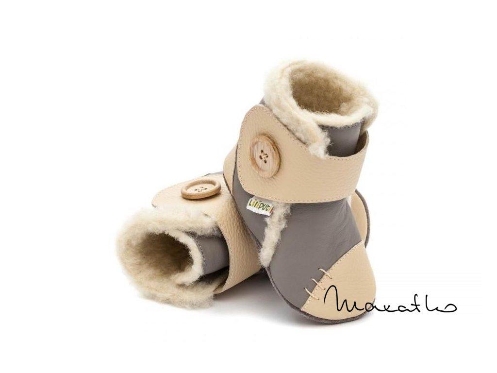 Liliputi Booties Dusk - Zimné čižmičky