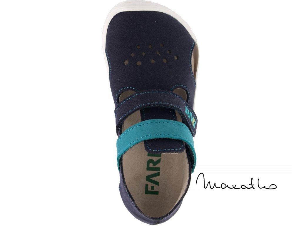 Fare Bare Prvé krôčky - Tmavomodré - 5061202 - Sandálky
