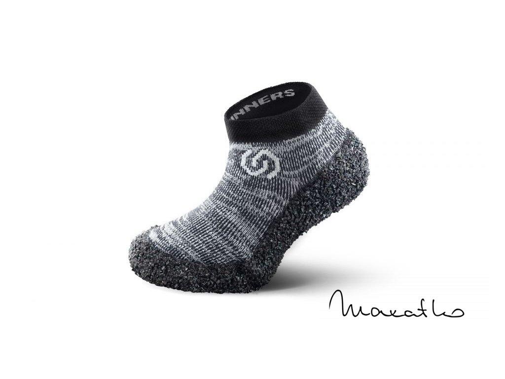 Skinners Kids Granite Grey - Ponožkotopánky - Detské