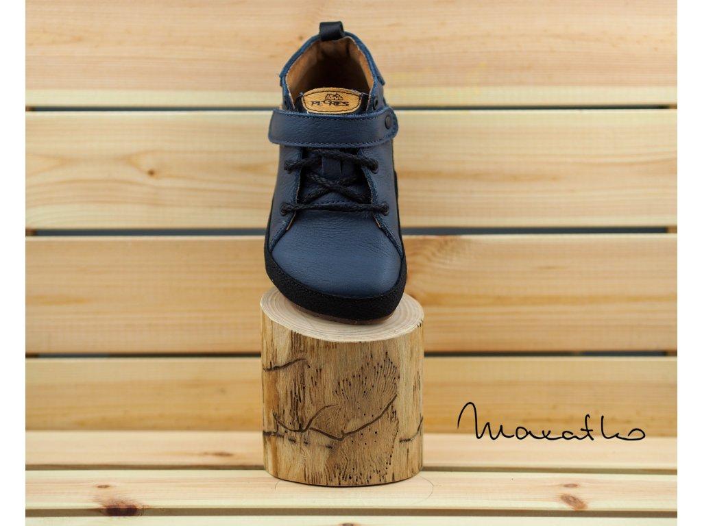 Pegres Barefoot Modré - Celoročné topánky