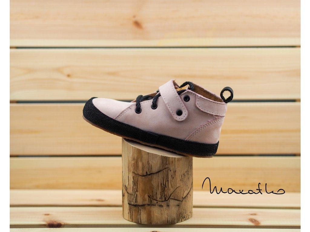 Pegres Barefoot Ružové - Celoročné topánky