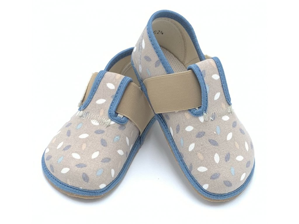 Pegres Barefoot BF01 Sivé - Papuče