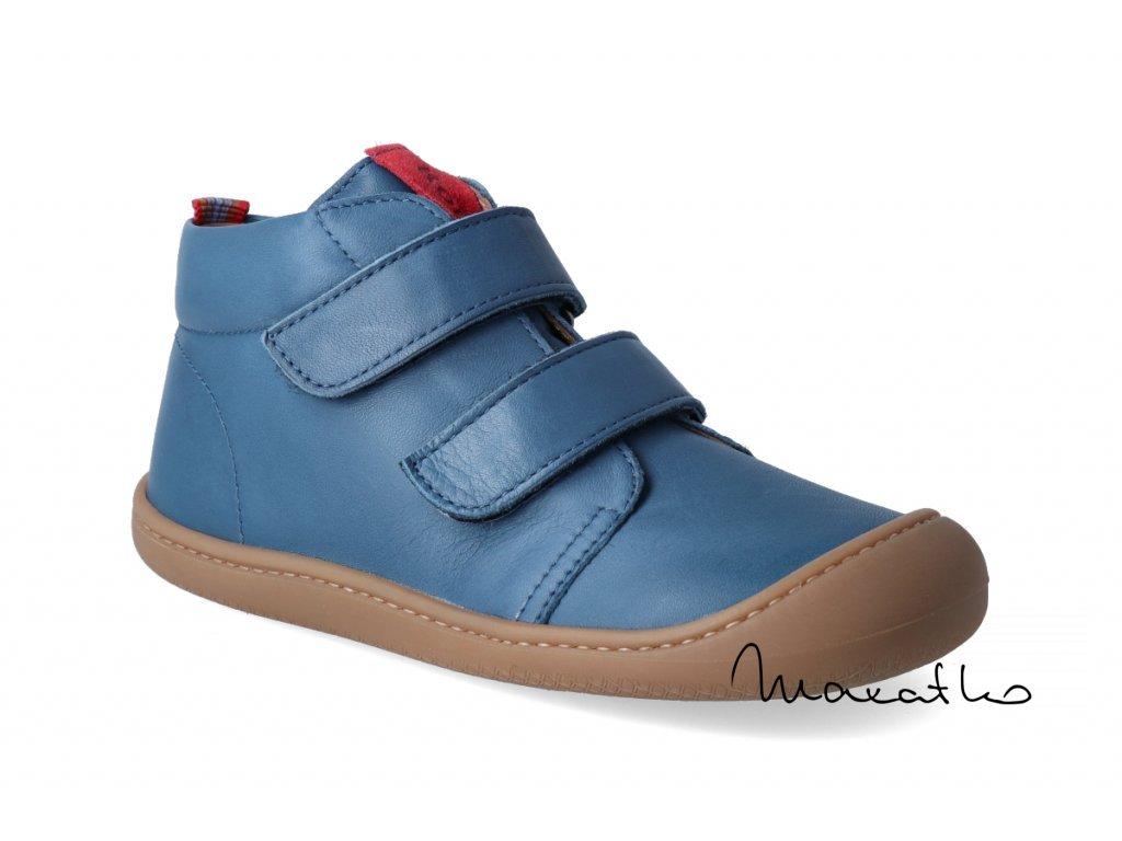 2114 2 barefoot kotnikova obuv koel4kids plus nappa blue 3