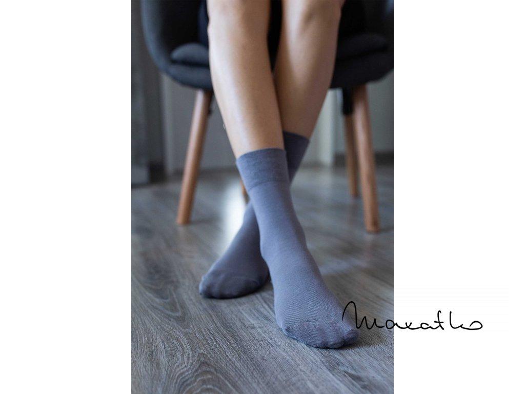 barefoot ponozky sive 4711 size large v 1