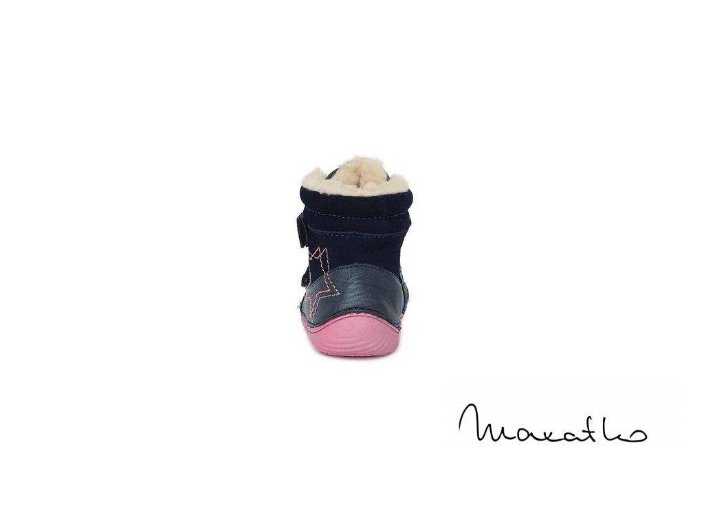 D.D.Step Dark Pink 070-755 - Zimné topánky