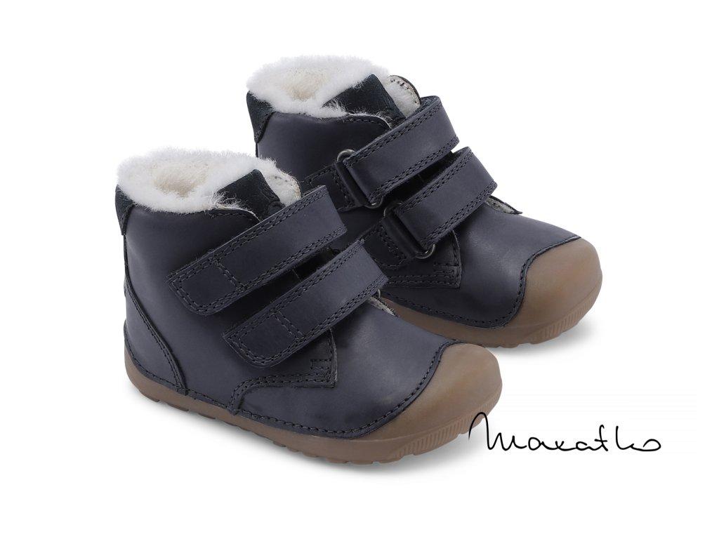 Bundgaard Petit Mid Winter Navy - Zimné topánky