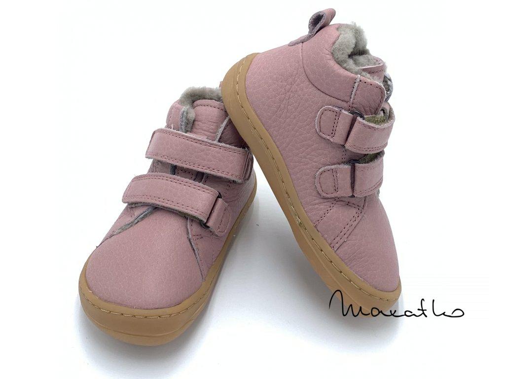Froddo Flexible Winter Pink - s kožušinkou - Zimné topánky