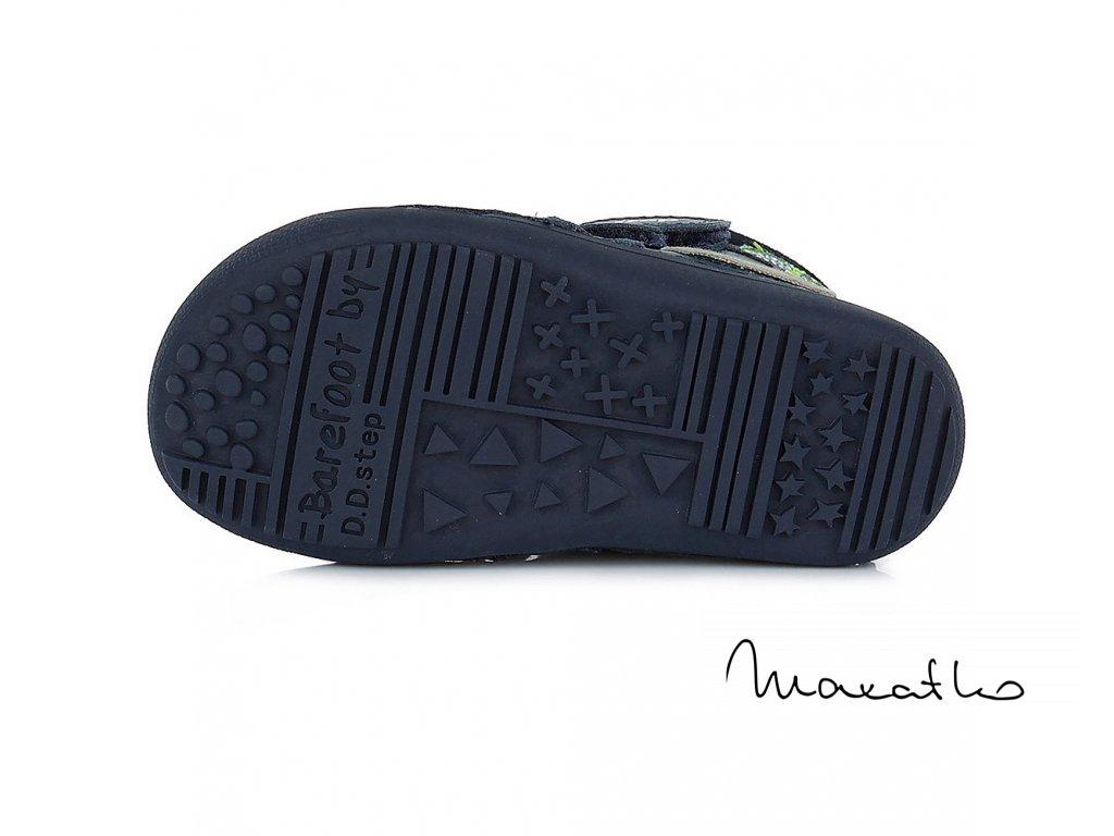 D.D.Step Grey 063-465 - Zimné topánky